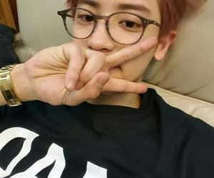 asian, glasses, and korean image