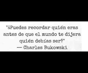 charles bukowski, destino, and frases image