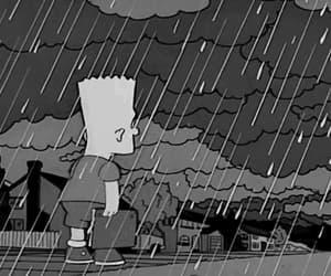 gif, sad, and sad simpsons image