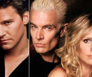 angel, btvs, and spike image