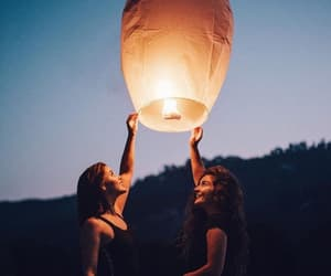 dreaming, light, and friendship image