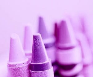 purple, crayon, and pink image