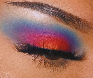 blue, bright, and eyebrows image