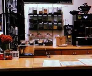 cafe, coffee, and coffeehouse image