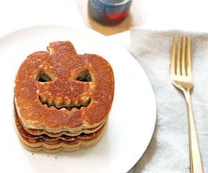 pumpkin, pancakes, and autumn image