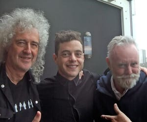 Queen and rami malek image