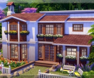 creation, house, and the sims image