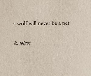 quotes, text, and wolf image