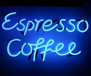 blue, light, and coffee image