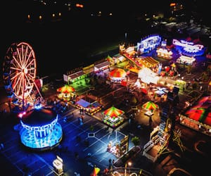 aerial photography, aerial view, and colors image