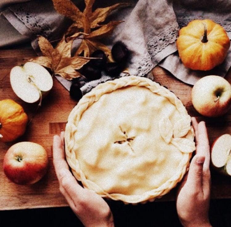 apple, baking, and Halloween image