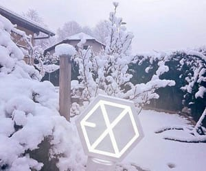 aesthetic, exo, and frozen image