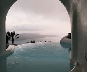 pool, travel, and view image