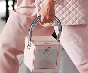 fashion, Balmain, and pink image