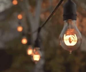 aesthetic, gif, and lights image