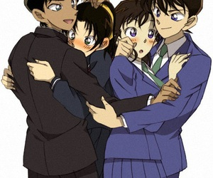detective conan, anime, and ran image