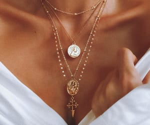 classy, necklaces, and accessories image