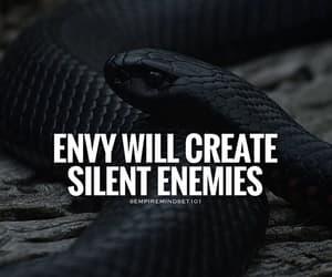 black, enemy, and envy image