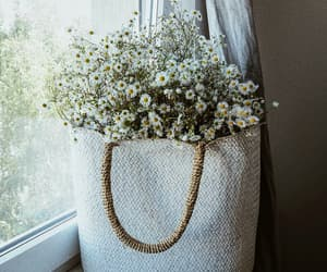 bag, beautiful, and flower image