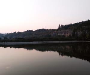 enjoy, happy, and lake image