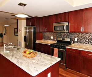 kitcheninteriordesign, cherrykitchencabinets, and rtakitchencabinets image