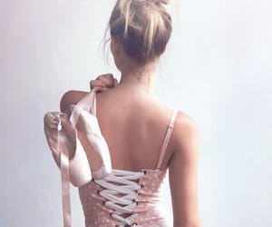 ballerina, hairstyle, and ballet image