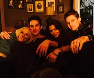 michael trevino, candice accola, and the vampire diaries image