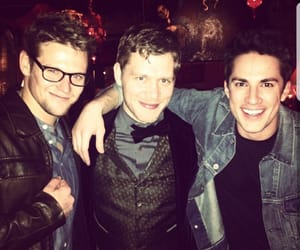 the vampire diaries, Zach Roerig, and michael trevino image