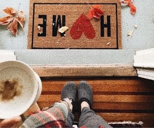 fall, home, and love image