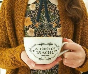 magic, cup, and autumn image