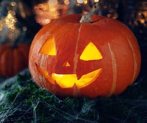 autumn, jack o'lantern, and candles image