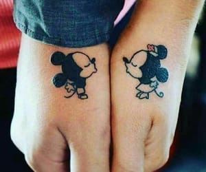 couples, disney, and hands image