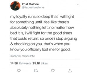 facts, loyalty, and postmalone image