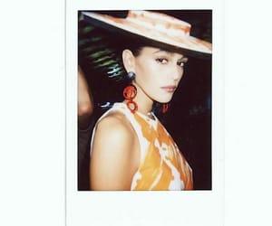 fashion, model, and polaroid image