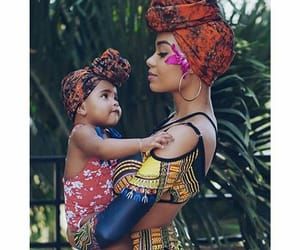 African, chic, and ankara image