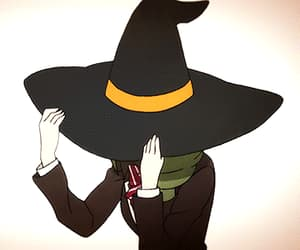 anime, Halloween, and witch image