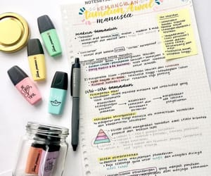 girls, school, and notes image
