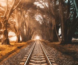 art, journey, and sunrise image