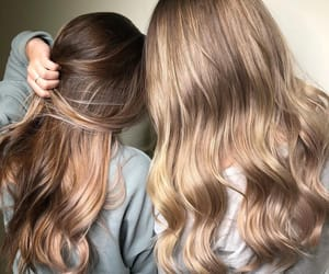 girls, hair, and beautiful image