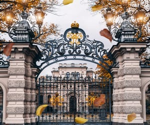 autumn, aesthetic, and architecture image