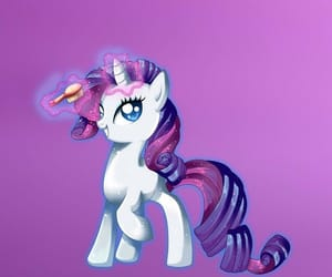 my little pony, rarity, and background image