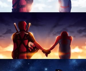 deadpool, spiderman, and peter parker image