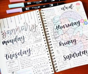 brush pens, journaling, and pastel image