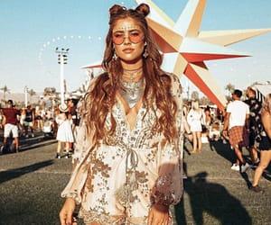 coachella, fashion, and music image