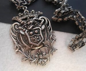 coat of arms, etsy, and steampunk jewelry image