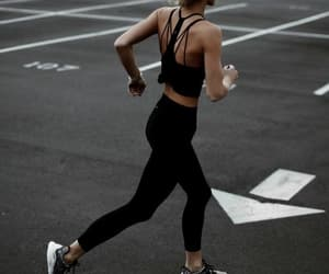 fitness, girl, and motivation image