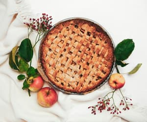 applepie, apples, and autumn image