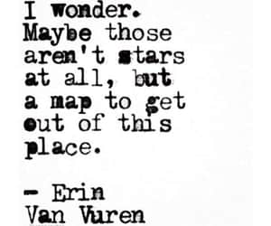 map, quotes, and stars image