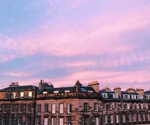city, beautiful, and pink image