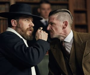 tom hardy, peaky blinders, and arthur shelby image